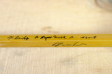 "Massimo Tirocchi - 7'2"" #4 Quad Super Power Bamboo Rod"