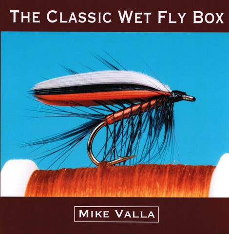 The Classic Wet Fly Box by Mike Valla *SIGNED* Hardover Special Edition