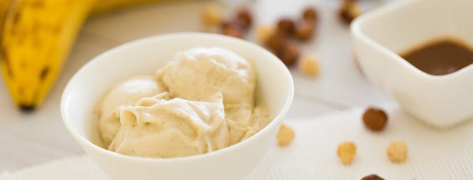 Frozen Banana Dairy-Free Ice Cream