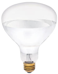 125 Watt R40 Incandescent Soft Glass Infrared Heat Light Bulb 125R40/HT