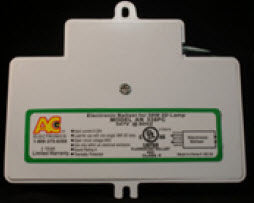 AC Ballast AN-128PC - 1 lamp - 28w 2D fluorescent lamp - 120V