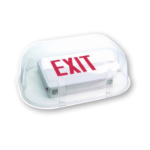 "Polycarbonate Shield for Certain Exits & Emergency Units (19.5"" x 15"" x 7.75"")"