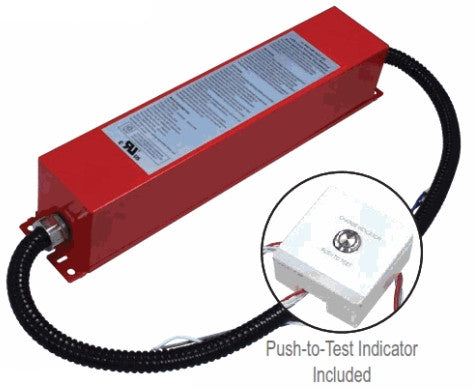 Emergency LED Driver - 20 WATT 170 VDC - For LED Tubes