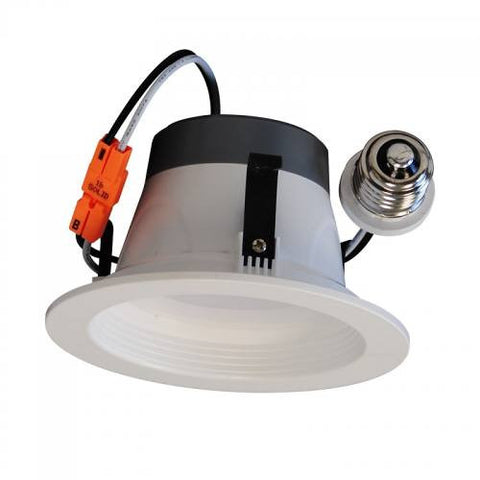 "4"" LED Downlight White Baffle"