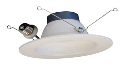 "5/6"" LED Downlight White Baffle"