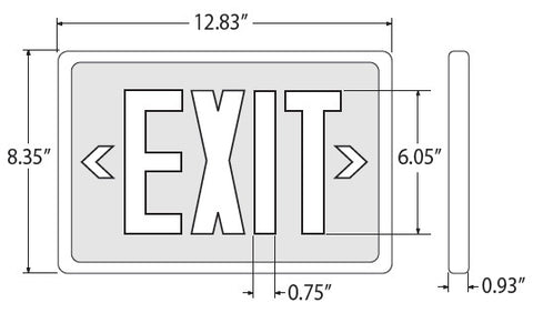 Exit Signs Double