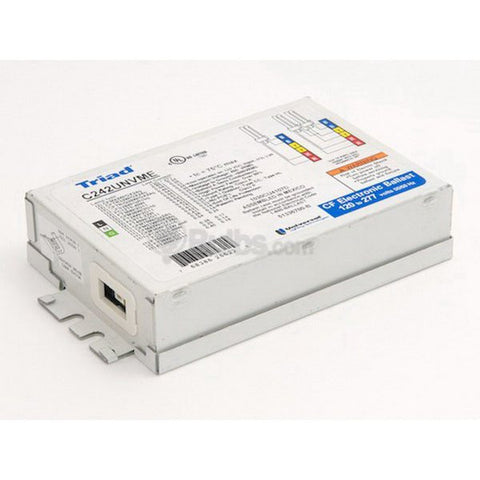 C242UNVMES - 2 Lamp - 42W CFL Electronic Ballast - 120/277v - Program Rapid Start