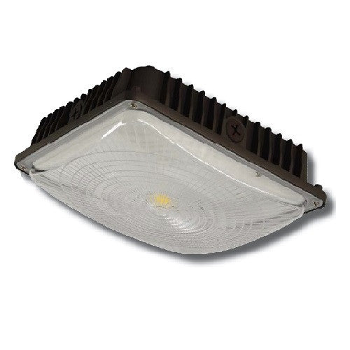 LED Ultra-Thin 5000K 120-277 Voltage Canopy Light