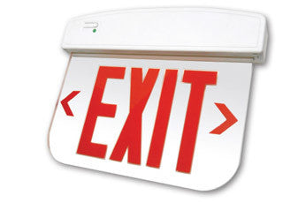 Plelrxteu Led Edgelit Exit Sign