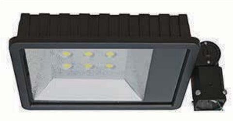 LED Shoe Box 5000K Food Light 200 & 160 Watt 120/277 Volt