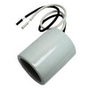 HID LAMP HOLDER - MOGUL BASE - WHITE CERAMIC