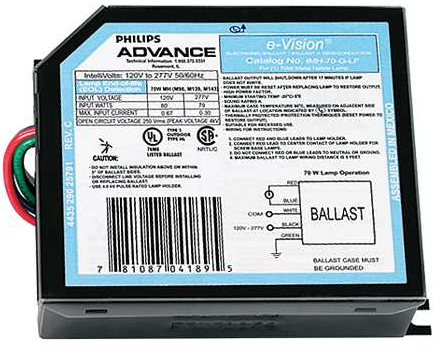 Advance IMH-70-G-LF - 70W Metal Halide Ballast