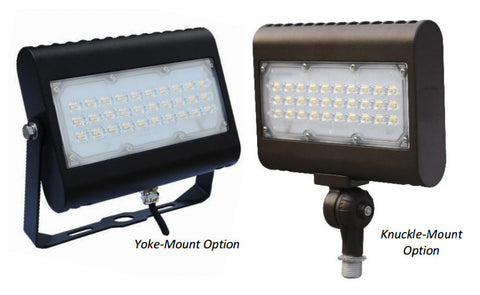 Multi-Purpose 50W 4900 Lumens 120V-277V LED Area Light