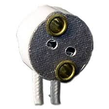 Halogen Lamp Socket - Bi-pin - G4