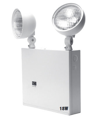 NYC Emergency Light, Steel - 18-68W Capacity - 2 or 3 Heads