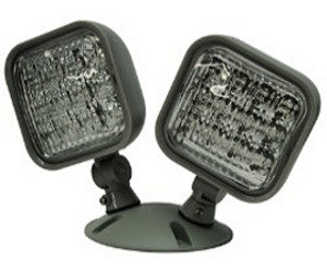LED Combo/R1 Remote Head, Double, Wet Location