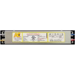 AC Ballast TSD-UV40T8MS - 1 or 2 lamps - 40w CFL lamps - 120/277v