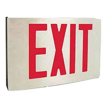 EXIT-NY-CA Series Cast Aluminium LED Exit Sign 120/277 Volt