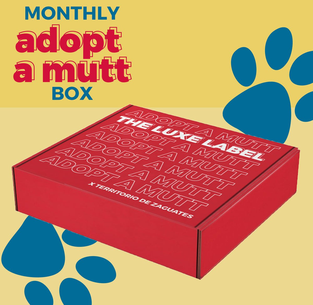 Montly Adopt a Mutt Box