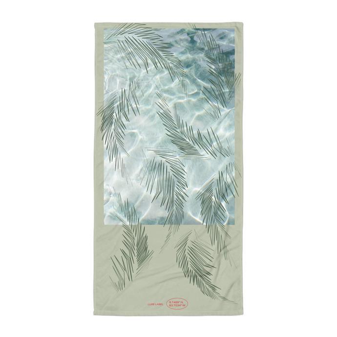 Palma Mint Towel