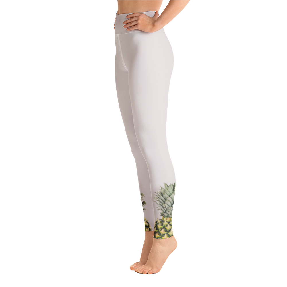 Green Crowns Leggings