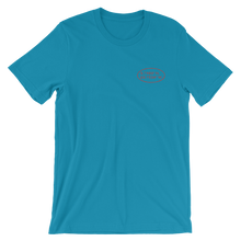 GPS short-sleeve unisex t-shirt
