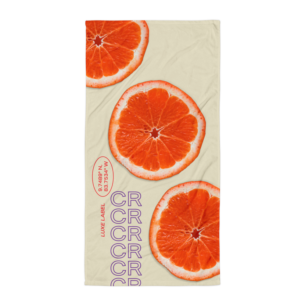 Orange Juice Towel