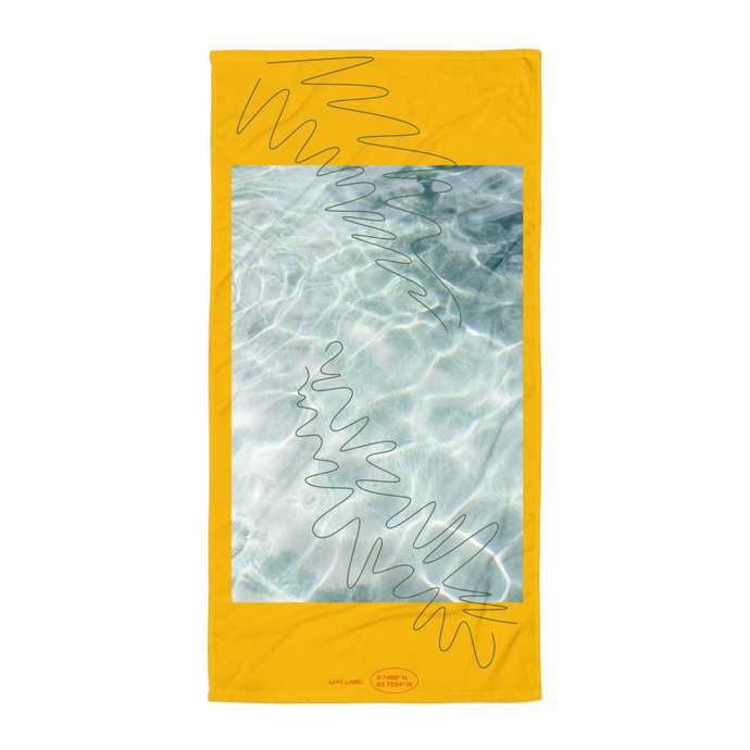 Palma Yellow Towel