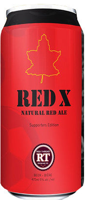 Red X Natural Red Ale