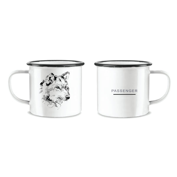 The Boy Who Cried Wolf | Tin Mug