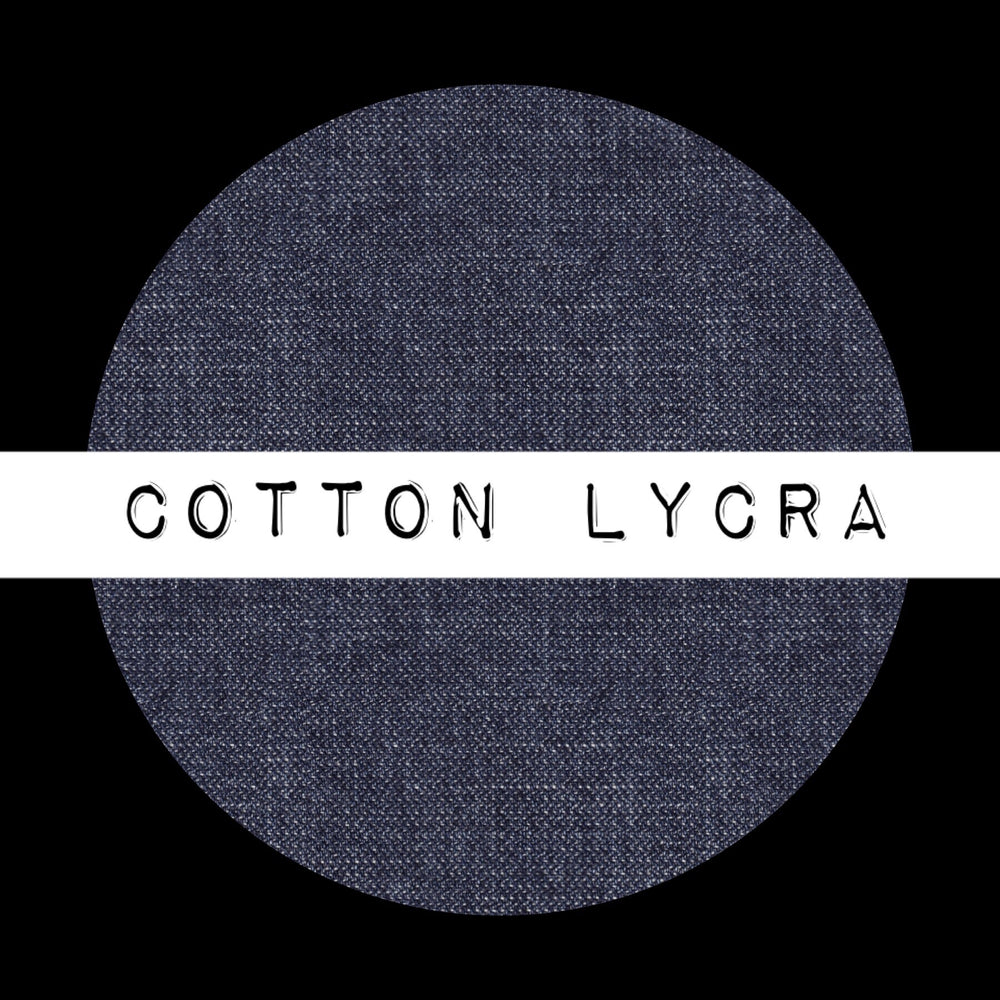Faux Denim Cotton Lycra