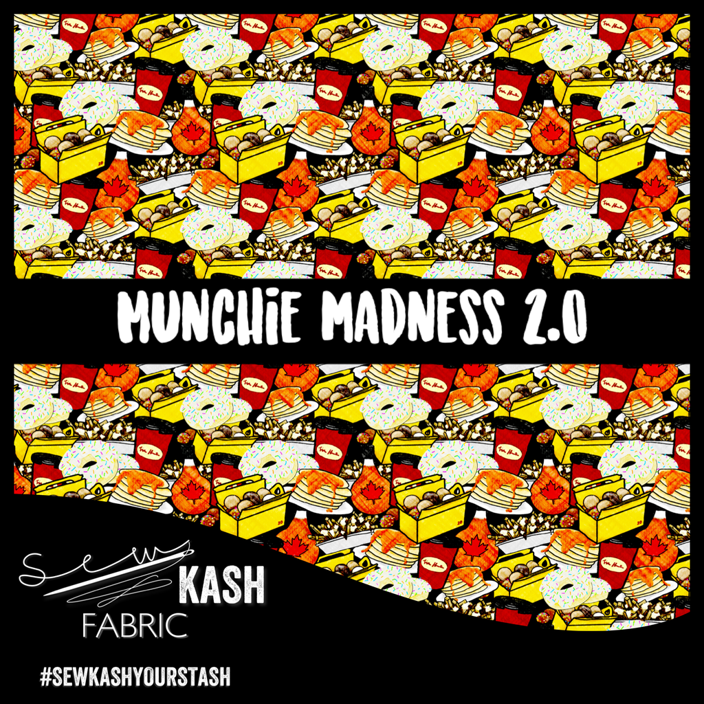 Munchie Madness 2.0 COTTON LYCRA