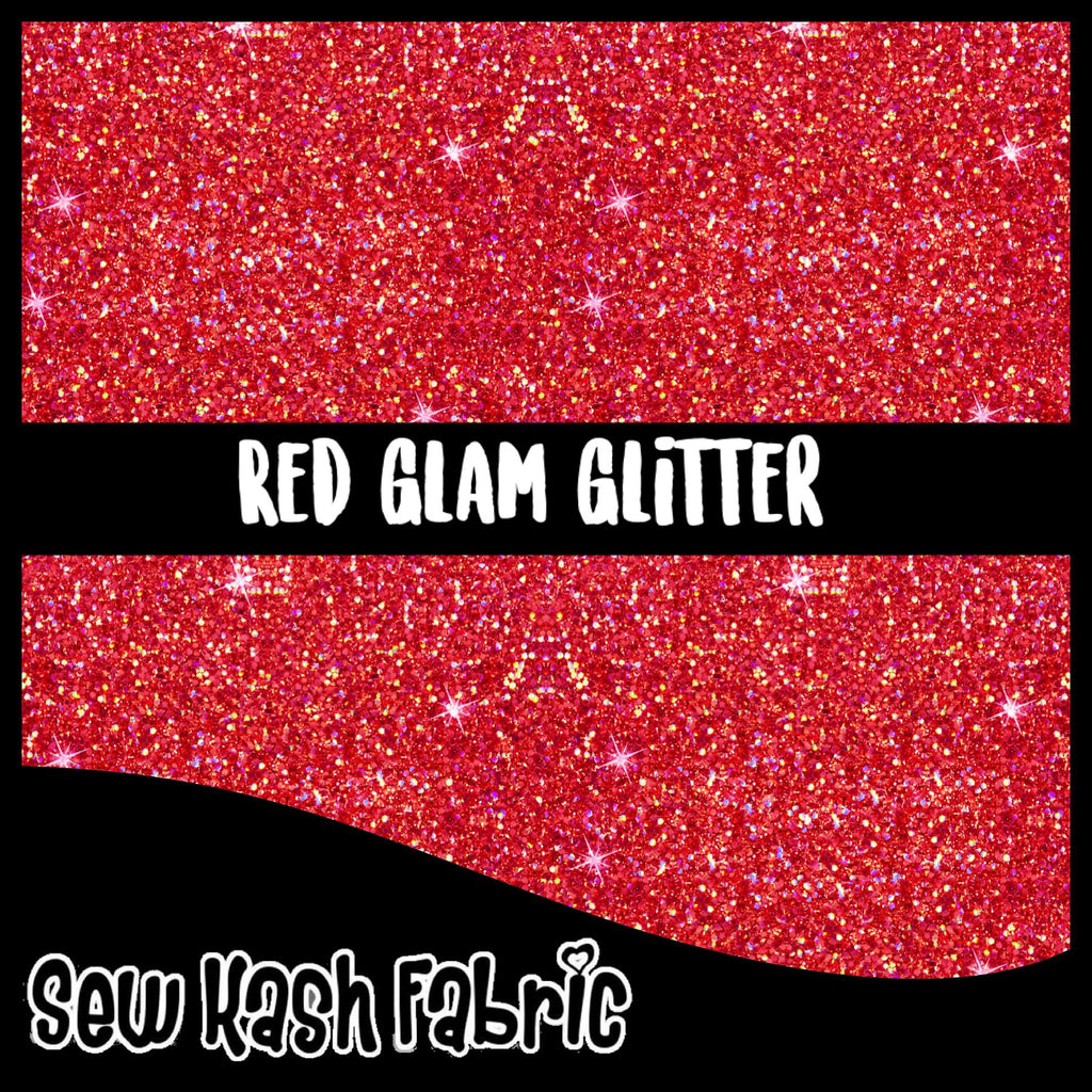 FLAWED RED GLAM GLITTER COTTON LYCRA