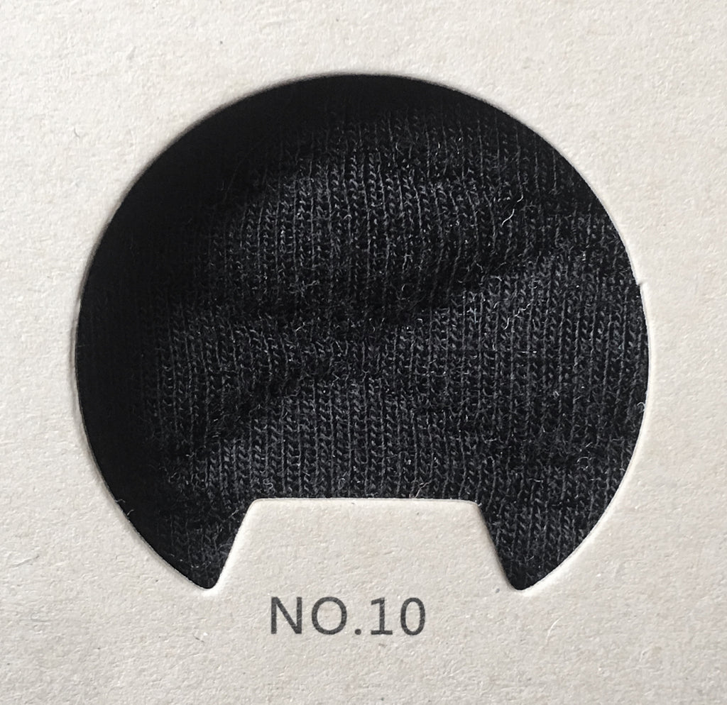 #10 BLACK QUILTED (CL)