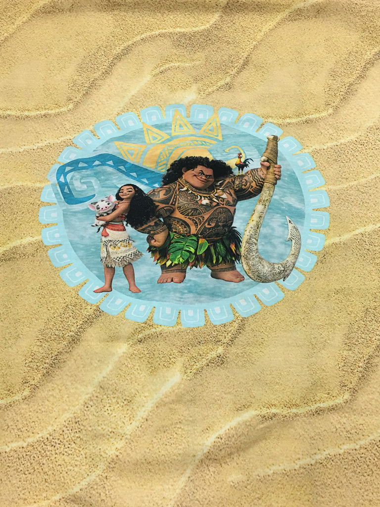 "SOLD AS IS Big Kid Size Moana Panel (20""x22"")"