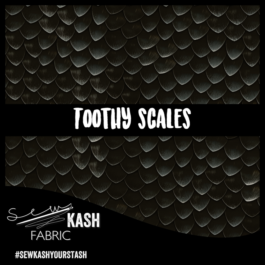 LAST ONE! SLIGHT SECONDS Toothy Scales COTTON LYCRA