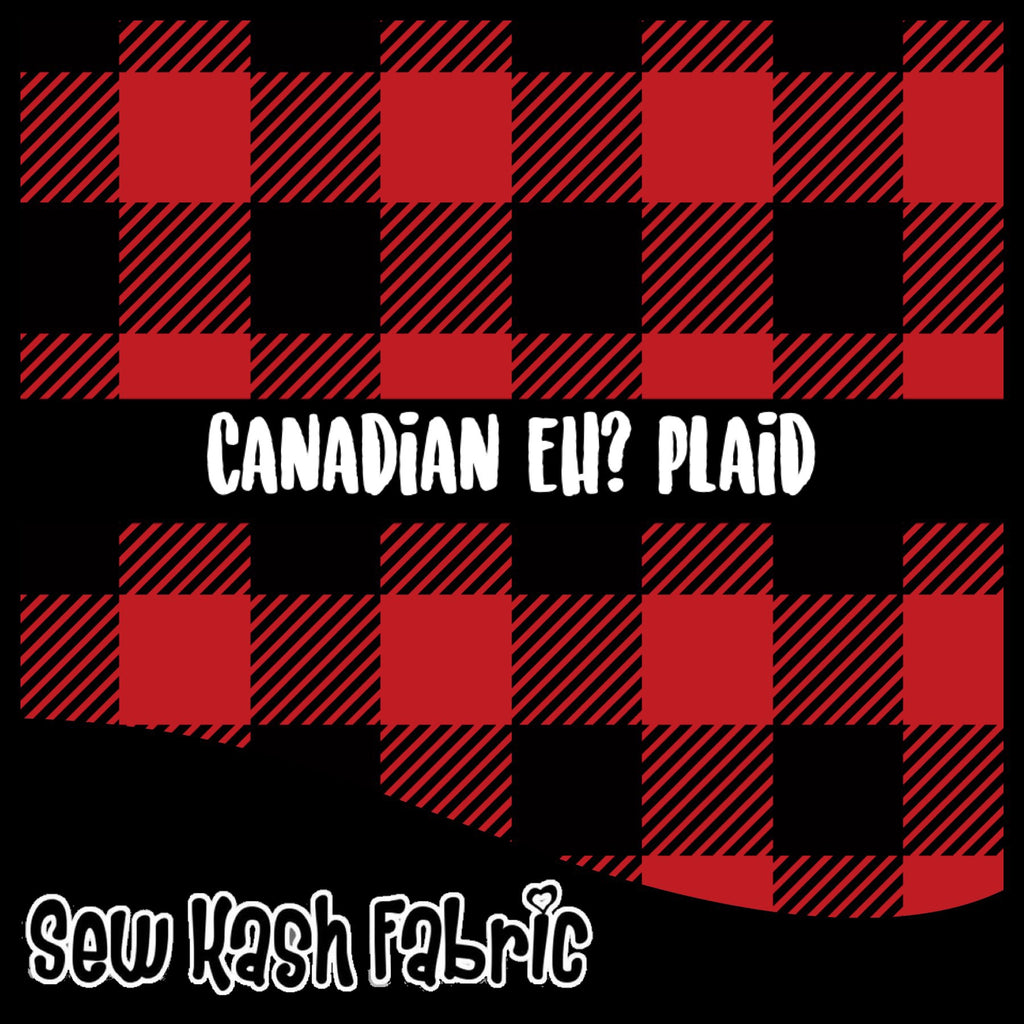 Canadian Eh? Plaid