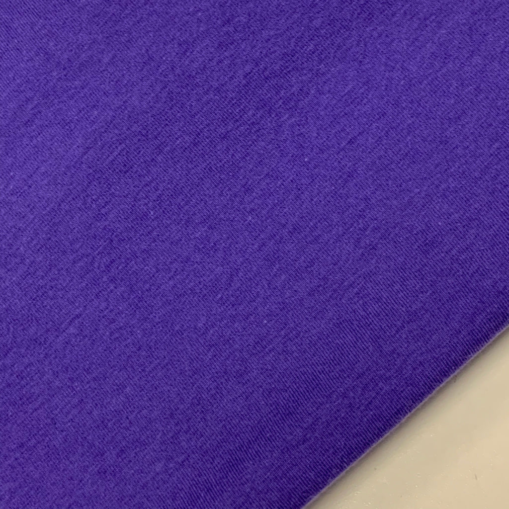 #69 Blue Violet Cotton Lycra Solid