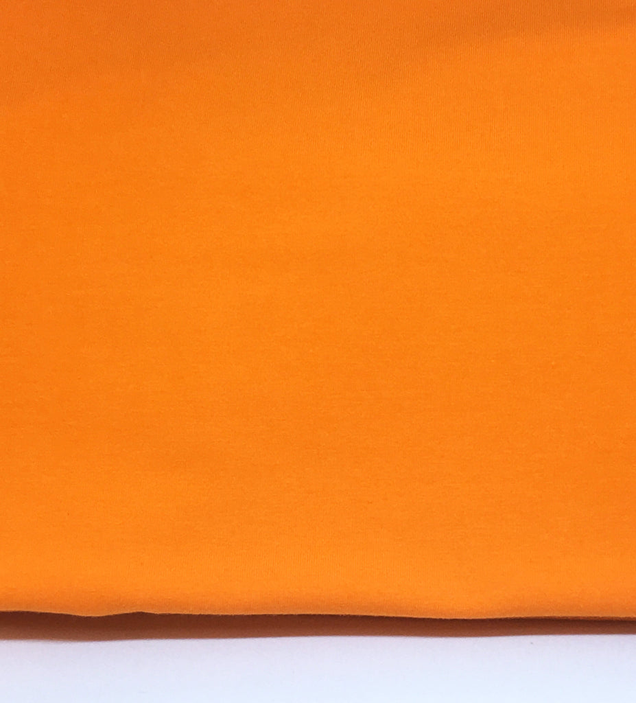 DISCONTINUED Light Orange Cotton Lycra Solid
