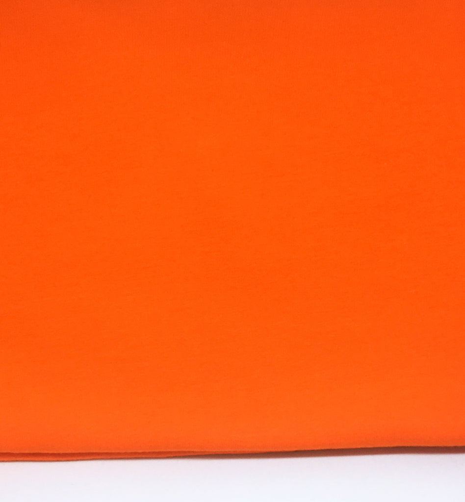 #70 Bright Orange Cotton Lycra Solid