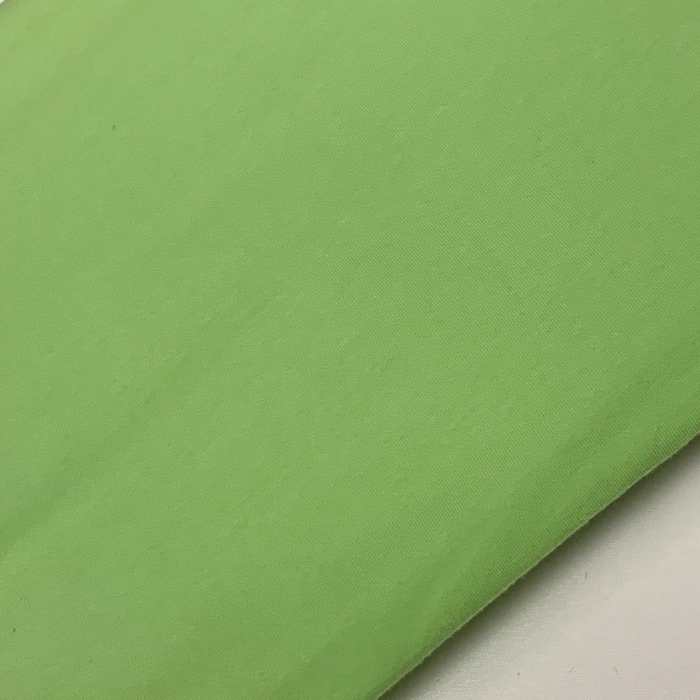DISCONTINUED Mint Green Cotton Lycra Solid