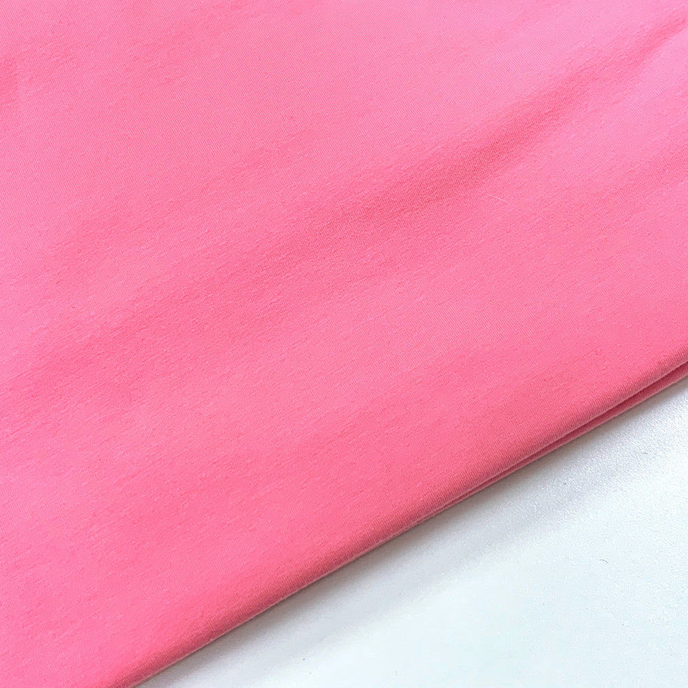 #34 Cotton Candy Pink Cotton Lycra Solid