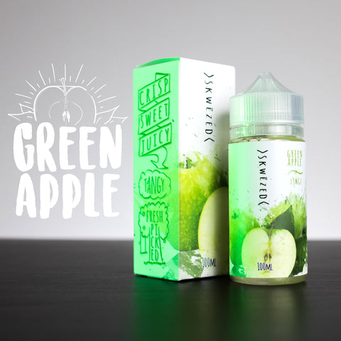 Green Apple by SKWĒZED E-Liquid - 100mL