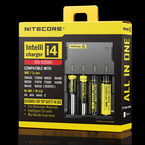 Nitecore i4 v2 Battery Charger