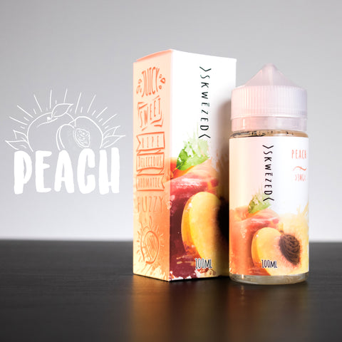 Peach by SKWĒZED E-Liquid - 100mL