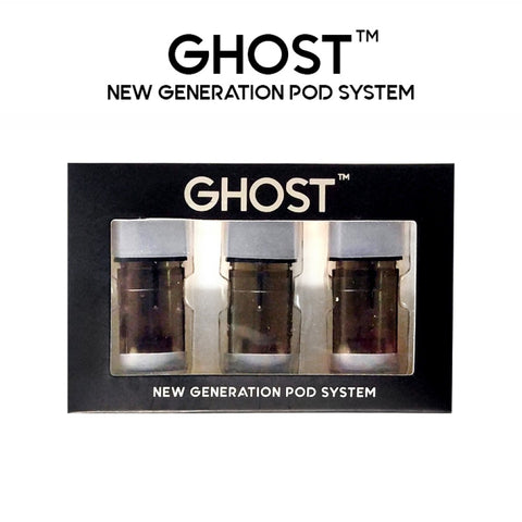 Ghost New Generation Replacement Pods 3 Pack