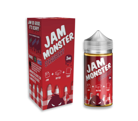 Strawberry by Jam Monster Liquids - 100mL