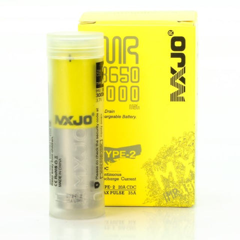 MXJO Type-2 35Amp 3000mah (4 Pack)