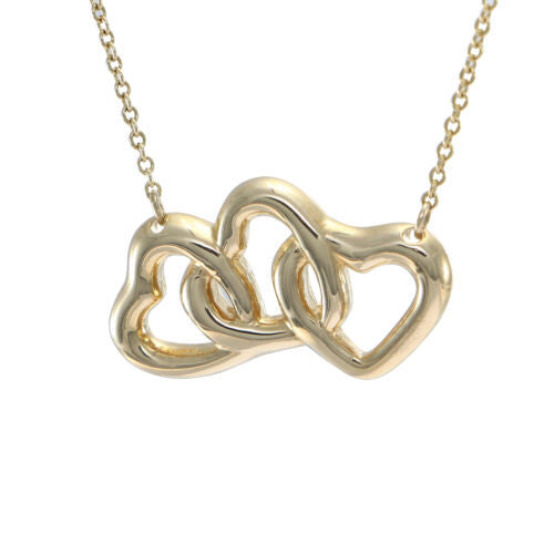 Heart Pendant Necklace 18k Yellow Gold