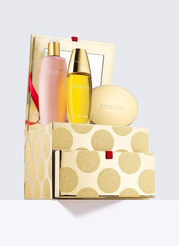 Estee Lauder ~ Beautiful Romantic Indulgences ~ LIMITED EDITION/GIFT SET 3-PIECE